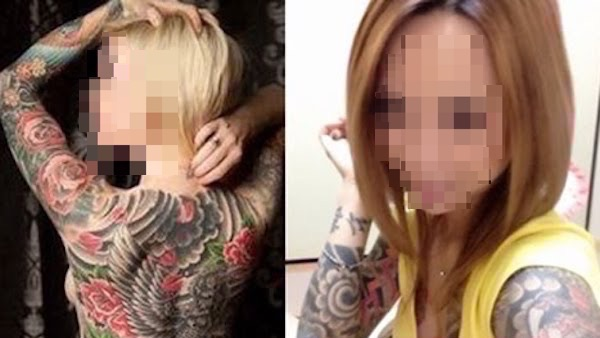 ヤクザの世界で生きる極道の女たち…刺青姿が芸術的だと話題に