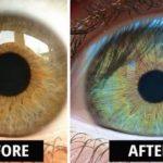 カラコンを使わずに瞳の色は変えれる…あるものを食べ続ければ誰でも黒目から青目に…