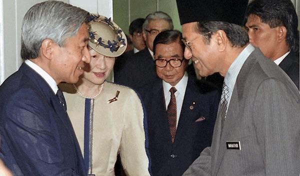 マレーシア人男性の15年越しに叶った願い…天皇陛下のお言葉に涙