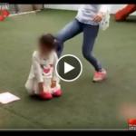 園児を平気で蹴り飛ばす保母…衝撃の虐待現場に思わず目を背けてしまう…(動画あり)
