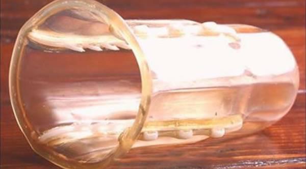 タンポン型レイプ防止器具…実際に強姦魔の性器を引き裂く…