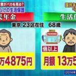 年金を40年払った人より1円も払わなかった生活保護の方が老後安定!?