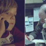 天国に行ったママを探すために警察に電話をかけた男の子…警察官の心温まる行動に思わず涙…