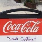 あるカフェが態度の悪い客に対して設置した看板…天才的名案だと話題に…