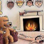 人間と動物の立場が逆転したら・・・ショッキングすぎる風刺画が話題に…