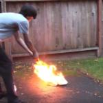 身近なもので作れる消火器…強力で効果的だと話題に…