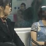 地下鉄の車内に衝撃の姿の女性客が出現…乗客が凍りついた姿がこちら…