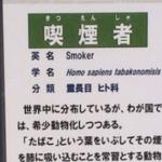 とある動物園の喫煙所に「喫煙者」の貼り紙…これはユーモアなのか?と話題に…