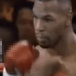 1995年のマイク・タイソンの試合でスマホを持った観客が…タイムトラベラーか!?