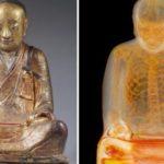 仏像の中に1100年前に死亡した高僧のミイラを発見…CTスキャンで浮かび上がった謎が話題に…