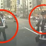 婦警さんが危うく誤検挙…運転手VS婦警の負けられない戦いが始まる(動画あり)…