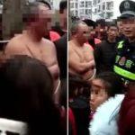中国で愛人との浮気がばれて奥様ブチギレ…木にくくりつけの刑にされて街中が大騒ぎに…