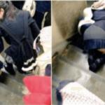 「とっとと歩けっ!」DQN女子高生が妊婦のブラを引っ張り、階段から引きずり落とした…