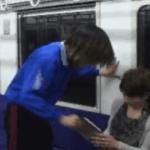 おっさん「何回してガキこさえたんや?」と電車で妊婦に暴言⇒数秒後、おっさんに驚きの制裁…