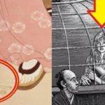 江戸時代の絵画(浮世絵)に謎の物体…その真相が話題に…