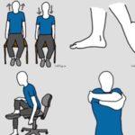 椅子に座ったままできるストレッチ…座りっぱなしのデスクワーカーにピッタリだと話題に…